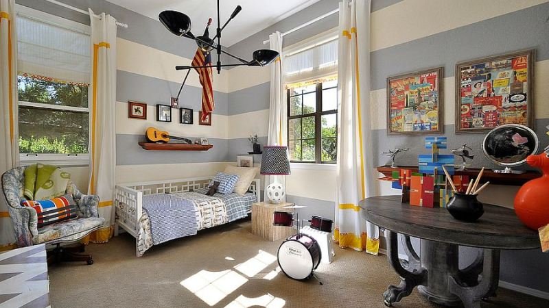 Cool little boy bedrooms