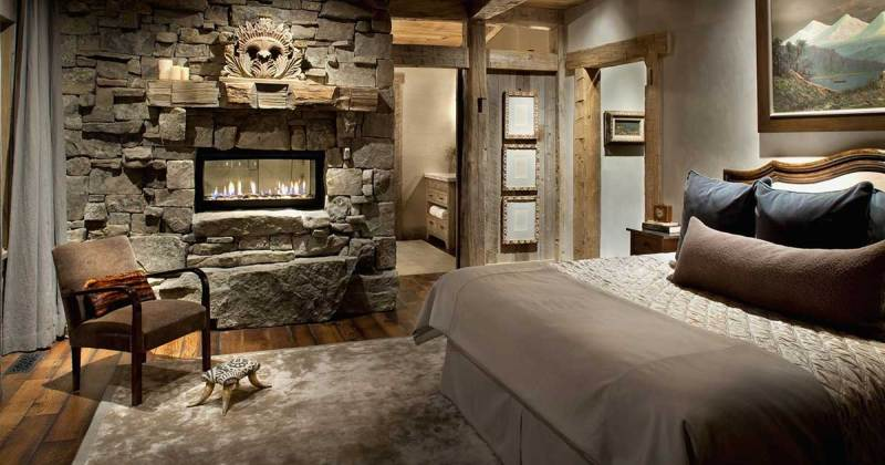 Cool rustic bedroom deas
