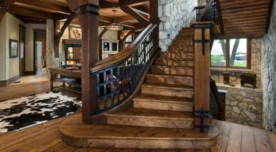 17 Creative Rustic Staircase Ideas