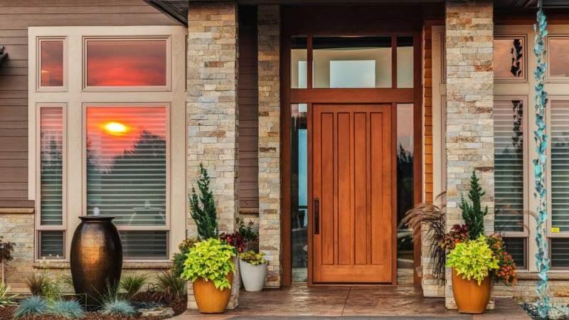 Curb appeal front door ideas