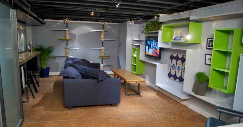 DIY basement remodeling ideas
