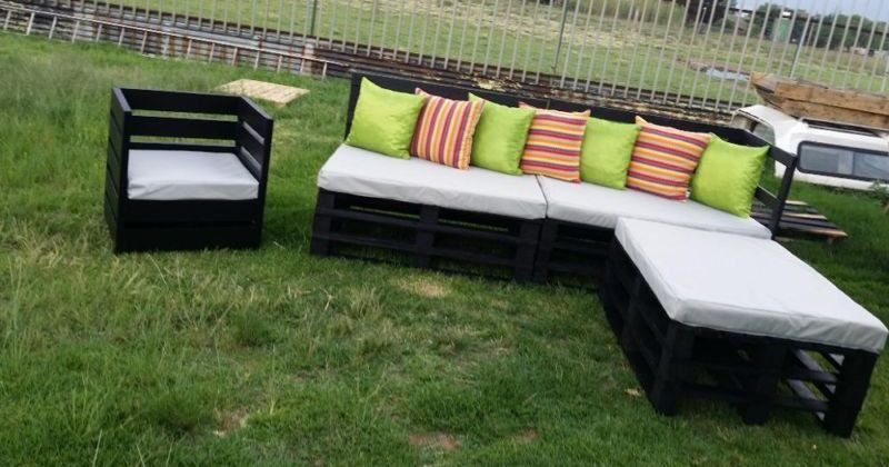 DIY outdoor furniture design ideas