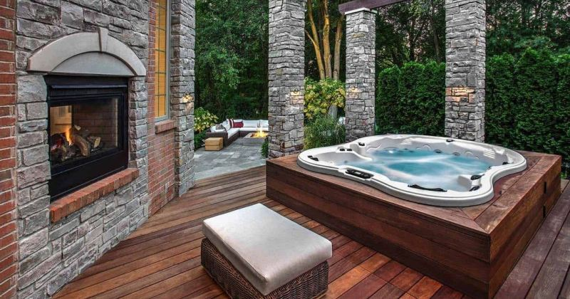Design a hot tub