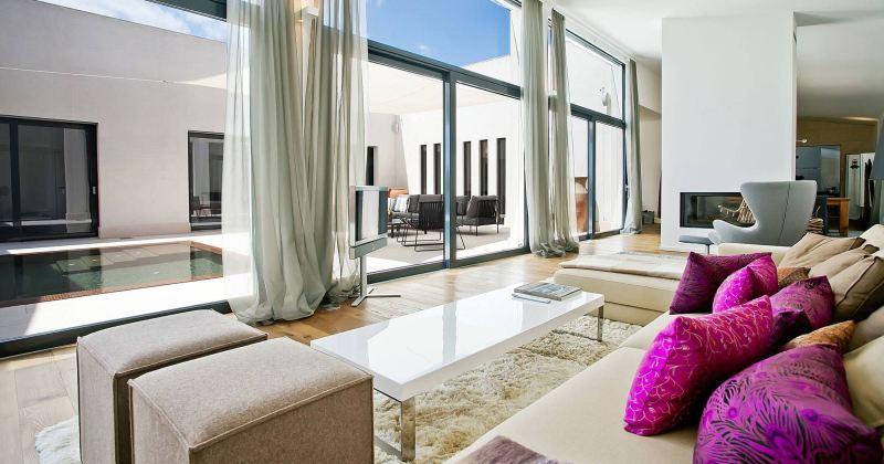 Floor-to-Ceiling Glass Windows