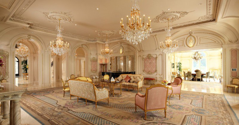 French baroque interior design