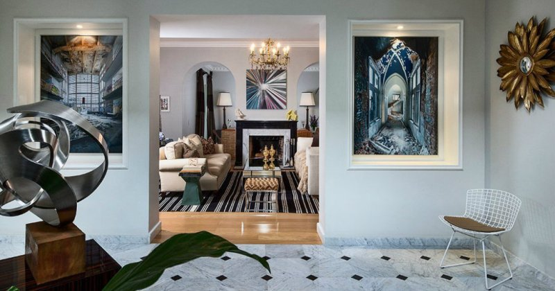 Hallways interior decoration