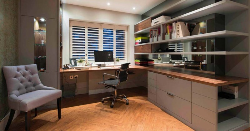 Home office decor images