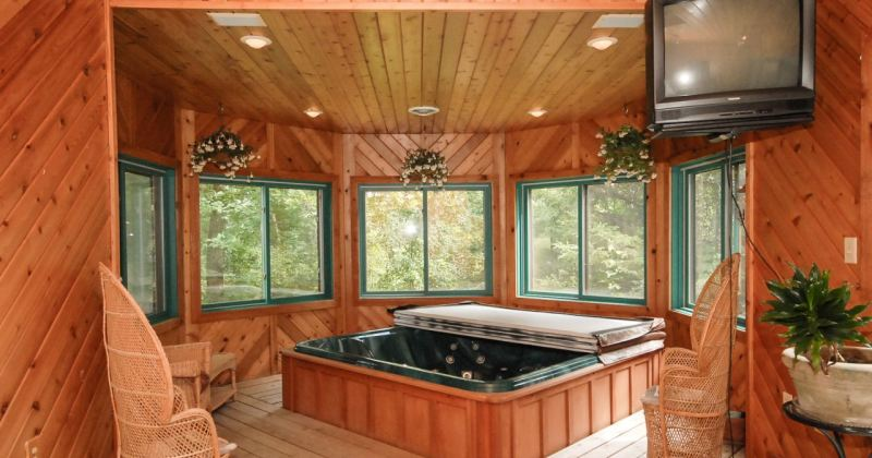 Hot tub enclosure plans