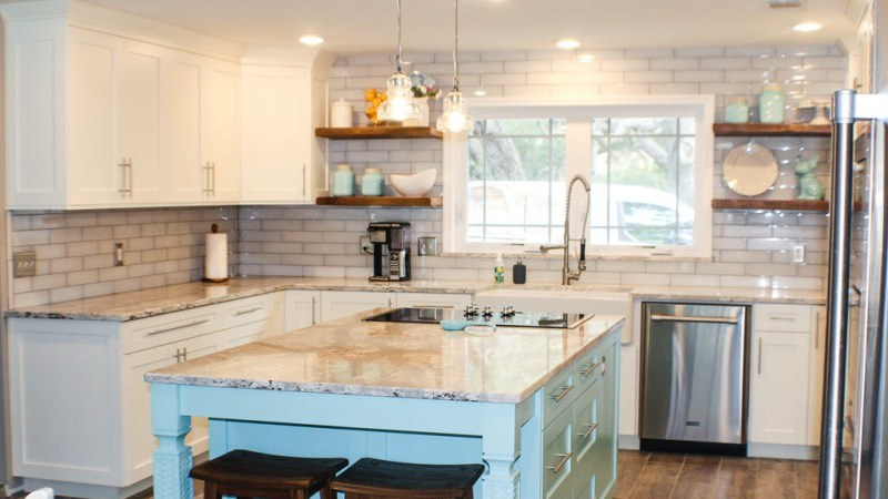 Kitchen cabinet doors and refacing