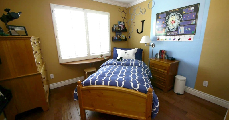 Little boy bedroom colors