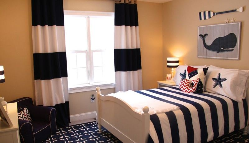 Little boy bedroom curtains