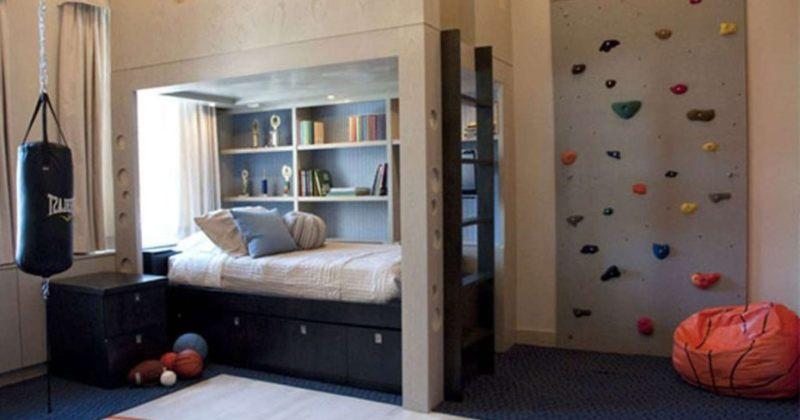 Little boy bedroom escape