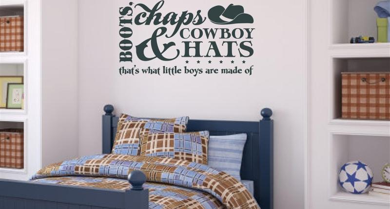 Little boy bedroom wall stickers