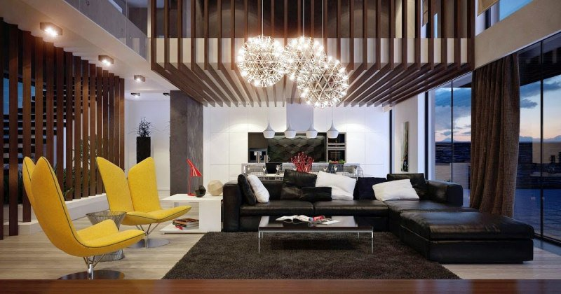 Living room interior decoration