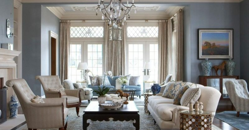 Living room interior elegant