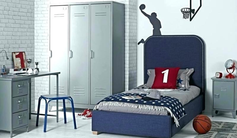 Lockers for bedroom storage