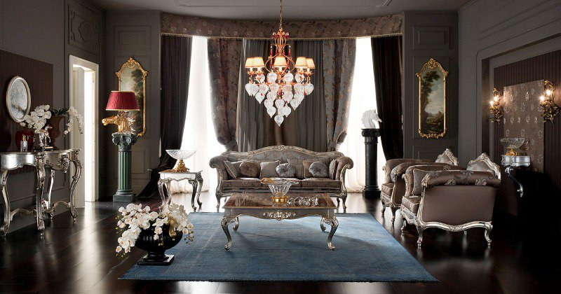 Luxury french home interior design