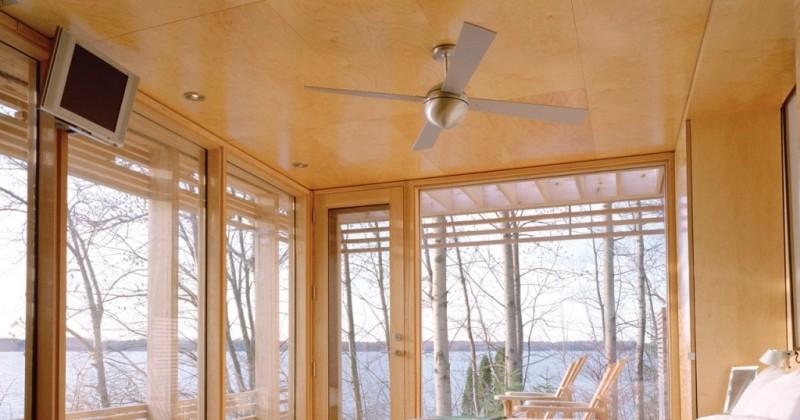 Modern ceiling fan ball