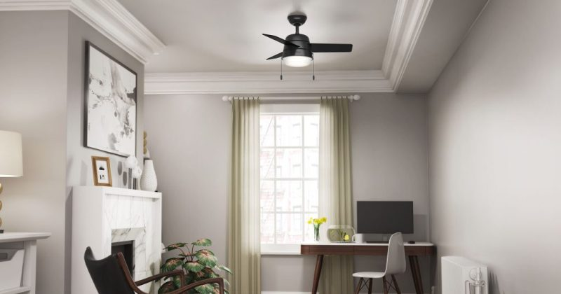 Modern ceiling fan for small room