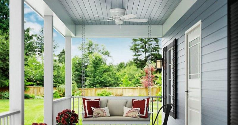 Modern ceiling fan outdoor