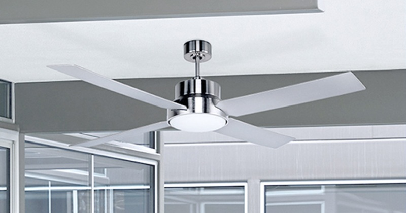 Modern ceiling fan white