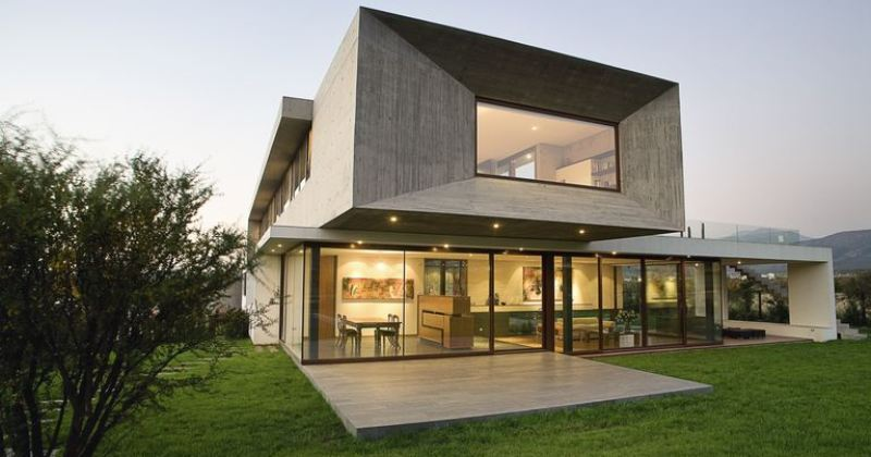 Modern residence architecture