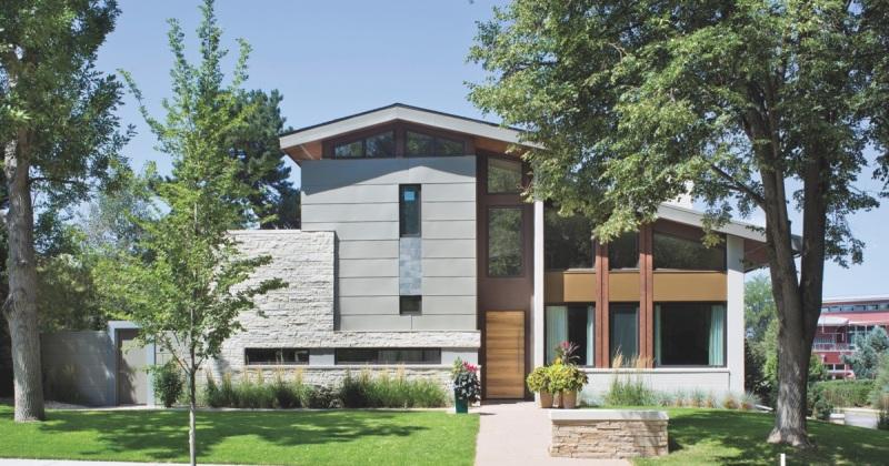 Modern residence palette