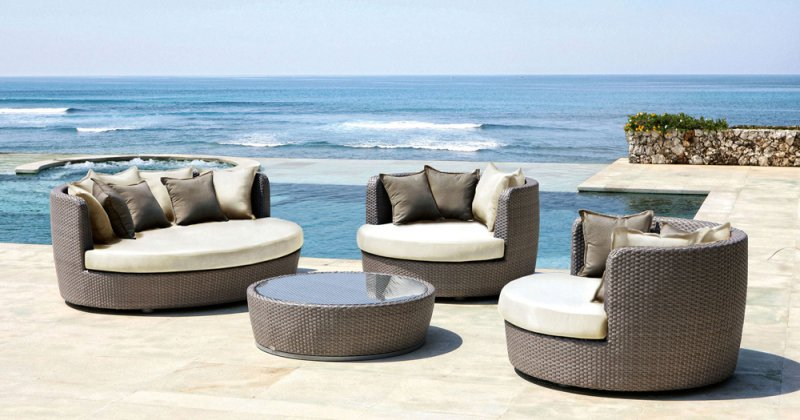 Outdoor beach furniture ideas