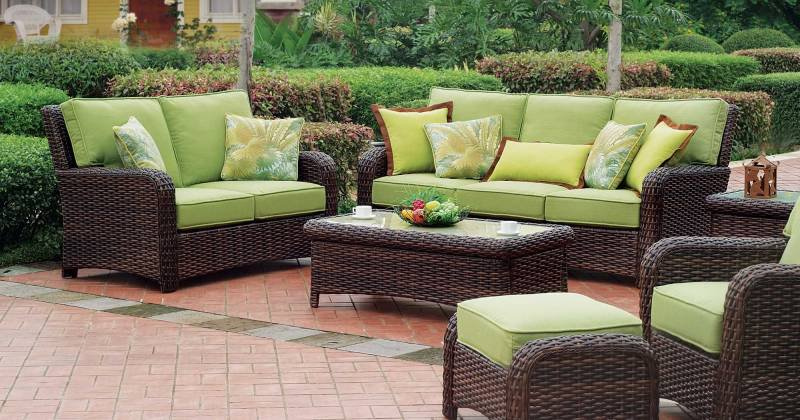 Outdoor furniture cushion ideas