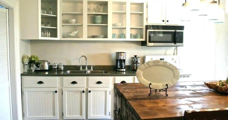 Refacing laminate kitchen cabinet doors