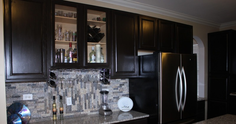 Resurface kitchen cabinets yourself