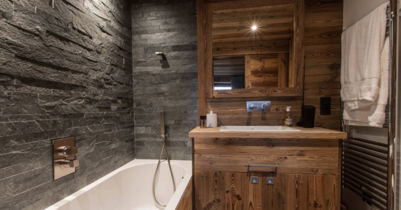 Rustic bathroom remodeling ideas