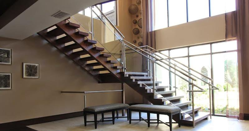 Rustic open staircase ideas