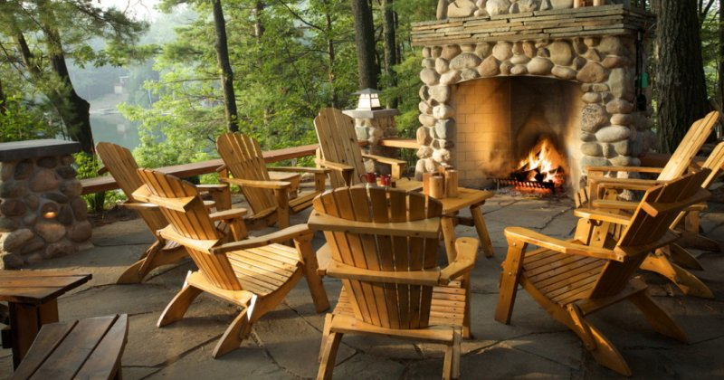 Rustic outdoor furniture ideas