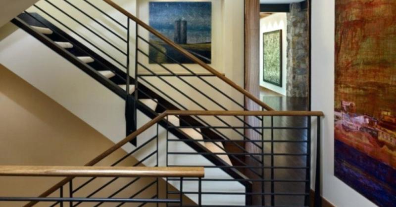 Rustic railing ideas