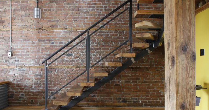 Rustic stairs ideas