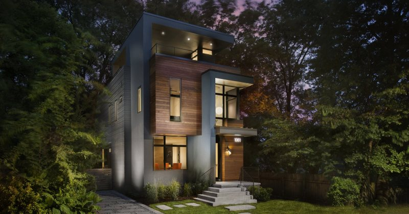 Sanders modern residence atlanta