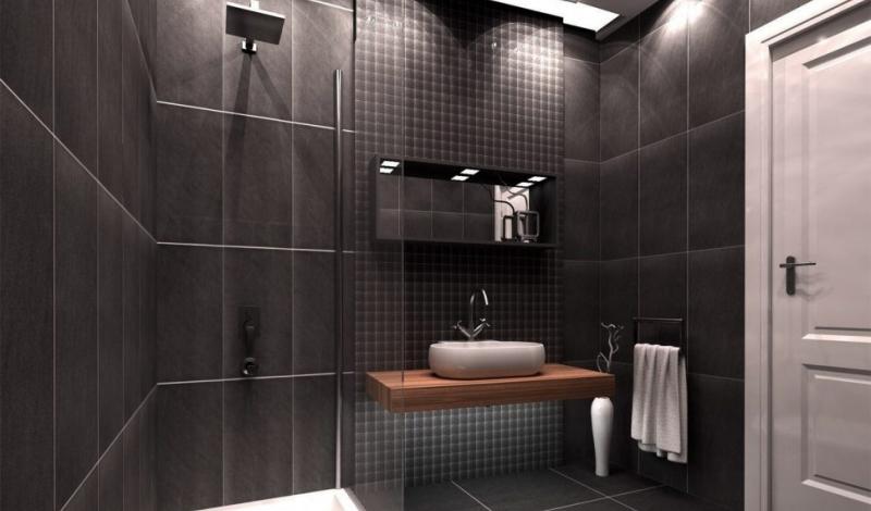 Small bathroom design modern