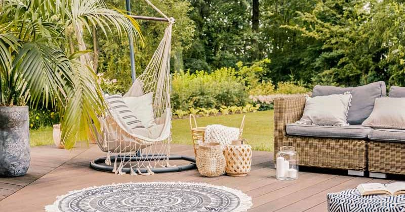 Small outdoor area rugs