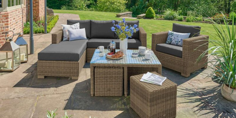 Small space outdoor furniture ideas
