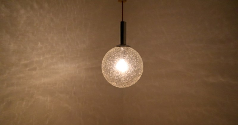Taking care of blown glass pendant lighting