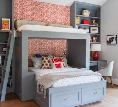 Unique Little Boy Bedroom