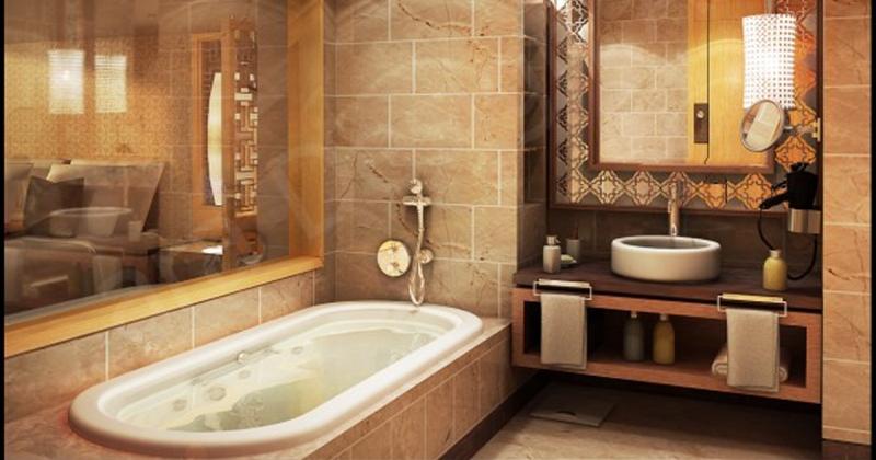Warm and cozy bathroom ideas