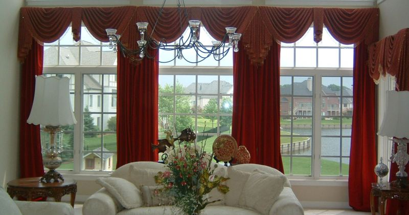 Window treatment ideas for large windows