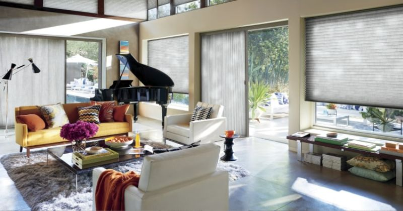 Window treatment ideas for patio doors