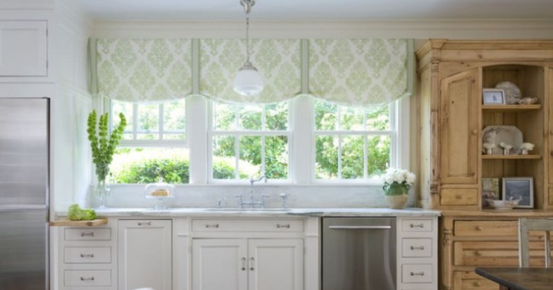 Window treatment ideas kitchen