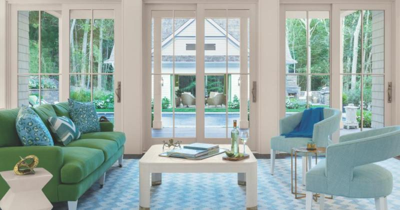 Window treatment ideas living room