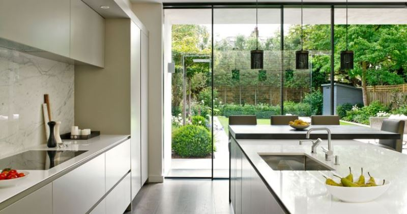 Bespoke glass kitchen extensions