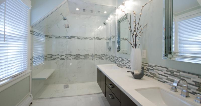 Carrara marble tile shower ideasCarrara marble tile shower ideas