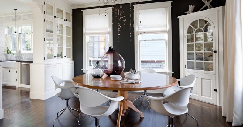Corner Hutch Dining Room Designs